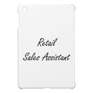 Retail Sales Assistant Artistic Job Design iPad Mini Cover