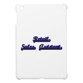 Retail Sales Assistant Classic Job Design iPad Mini Cover