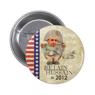 Retain Hussain in 2012 Button