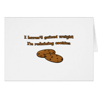 Retaining Cookies Card