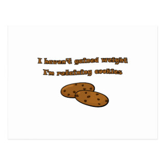 Retaining Cookies Post Card