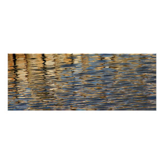 Retaining Wall Reflection 1 Poster