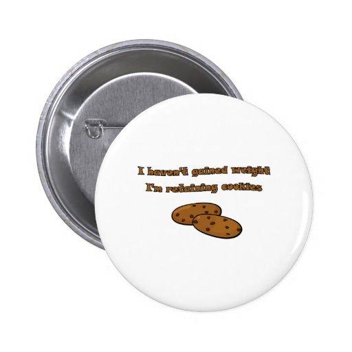 Retención de las galletas pin