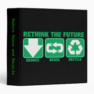 Rethink The Future, Recycle Binder