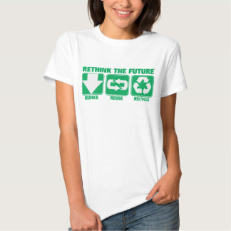 Rethink The Future, Recycle Tshirts
