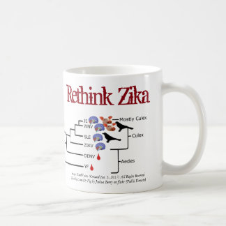 Rethink Zika Mug by RoseWrites