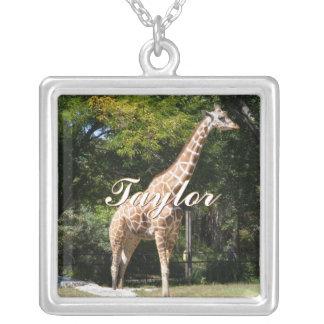 Reticulated Giraffe Necklace