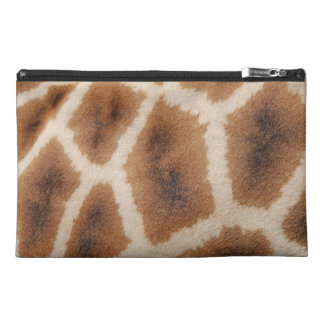Reticulated Giraffe Pattern Wild Animal Print Gift Travel Accessories Bags