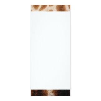 Reticulated Giraffe Pattern Wild Animal Print Gift 4x9.25 Paper Invitation Card