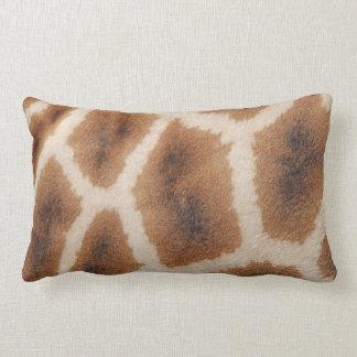 Reticulated Giraffe Pattern Wild Animal Print Gift Lumbar Pillow
