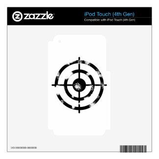 Retículo del Grunge Calcomanía Para iPod Touch 4G
