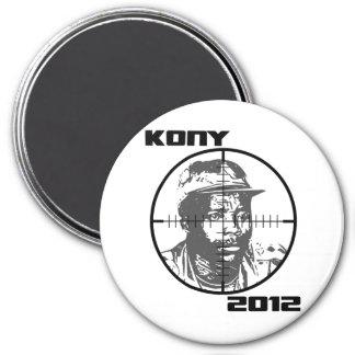 Retículos 2012 de la blanco de Kony José Kony Imán De Nevera
