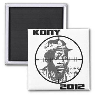 Retículos 2012 de la blanco de Kony José Kony Imanes De Nevera