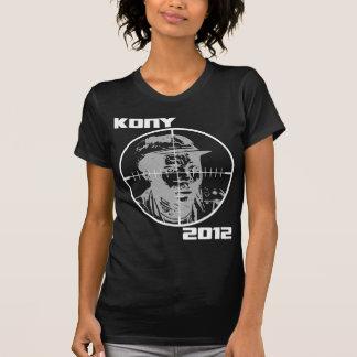 Retículos 2012 de la blanco de Kony José Kony Camisetas