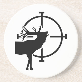Retículos de los ciervos posavasos personalizados