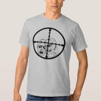 Retículos del zombi camisas