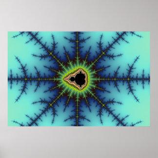 Retículos - poster del fractal