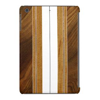 Retina del falso Koa iPad de madera de la tabla Funda Para iPad Mini Retina