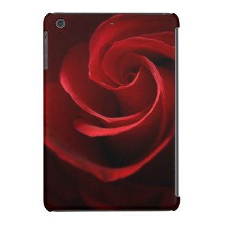 Retina del iPad de Barely There del rosa rojo mini Fundas De iPad Mini