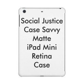 Retina del iPad mate listo del caso de la justicia