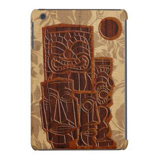 Retina Tiki Sun del iPad de madera de la tabla Funda Para iPad Mini Retina
