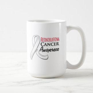 Retinoblastoma Cancer Awareness Ribbon Classic White Coffee Mug