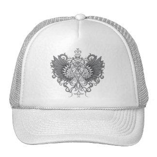 Retinoblastoma Cancer Cool Wings Trucker Hat