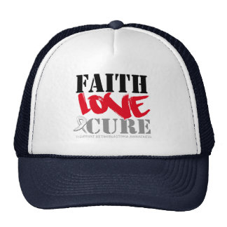 Retinoblastoma Cancer Faith Love Cure Hats