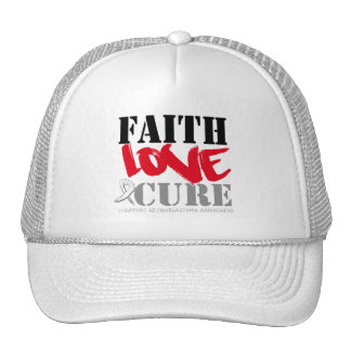Retinoblastoma Cancer Faith Love Cure Hat