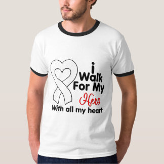 Retinoblastoma Cancer I Walk For My Hero Tee Shirt