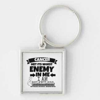Retinoblastoma Cancer Met Its Worst Enemy in Me Keychain