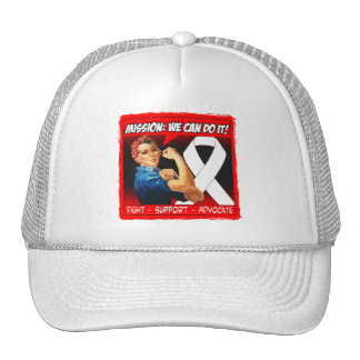 Retinoblastoma Cancer Mission We Can Do It Mesh Hat