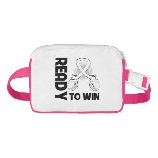 Retinoblastoma Cancer Ready To Win Nylon Fanny Pack