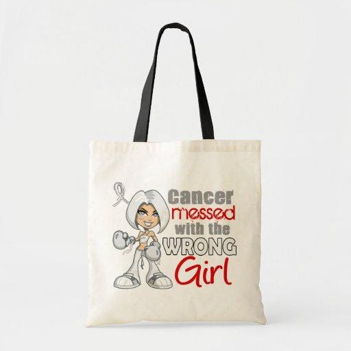 Retinoblastoma ensució con Girl.png incorrecto Bolsa De Mano