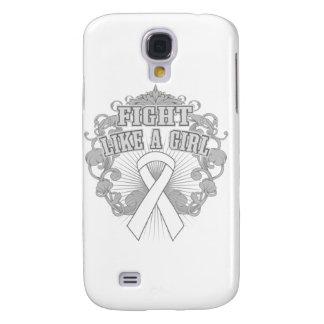 Retinoblastoma Fight Like A Girl Fleurish Samsung Galaxy S4 Covers