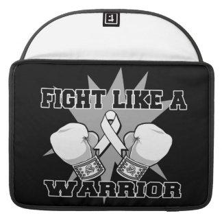 Retinoblastoma Fight Like a Warrior MacBook Pro Sleeve