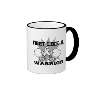 Retinoblastoma Fight Like a Warrior Mugs