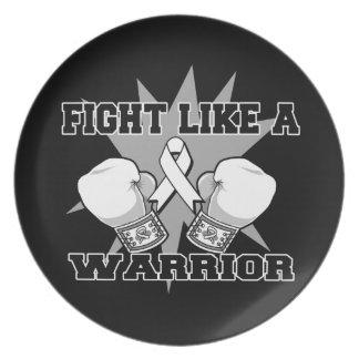Retinoblastoma Fight Like a Warrior Plate