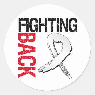Retinoblastoma -  Fighting Back Classic Round Sticker