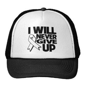 Retinoblastoma I Will Never Give Up png Mesh Hats