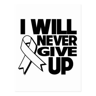 Retinoblastoma I Will Never Give Up.png Postcard