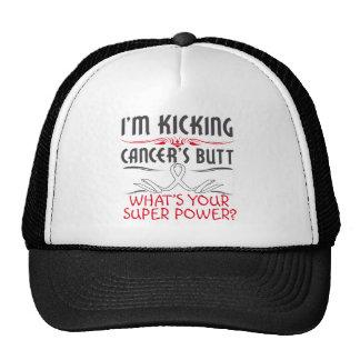 Retinoblastoma Kicking Cancer Butt Super Power Trucker Hat