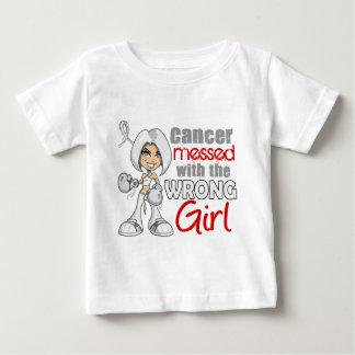 Retinoblastoma Messed With Wrong Girl.png Baby T-Shirt