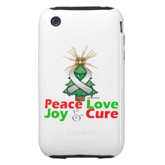 Retinoblastoma Peace Love Joy Cure iPhone 3 Tough Case