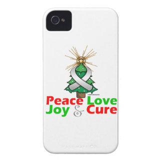 Retinoblastoma Peace Love Joy Cure iPhone 4 Case-Mate Case