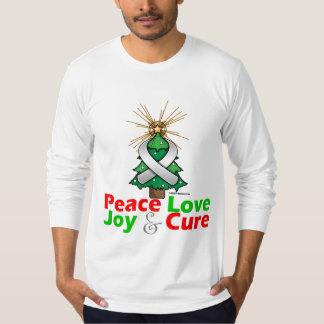 Retinoblastoma Peace Love Joy Cure Tshirt