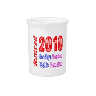 Retirado 2010, adiós pensión de la tensión hola jarras