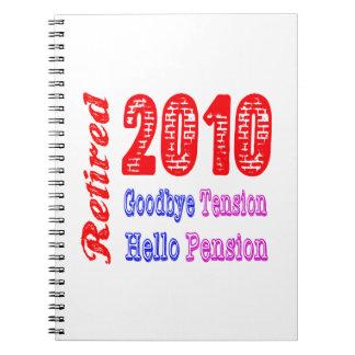 Retirado 2010, adiós pensión de la tensión hola libreta
