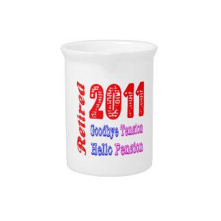 Retirado 2011, adiós pensión de la tensión hola jarra