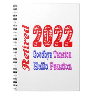Retirado 2022, adiós pensión de la tensión hola libreta